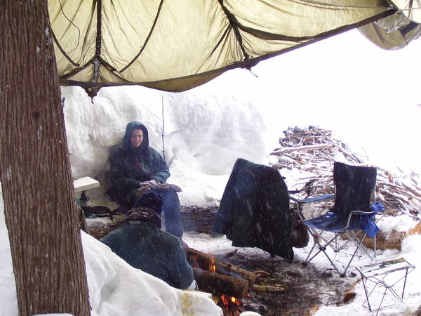 Winter campout