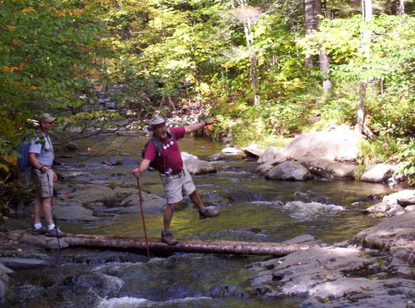 Tricky river crossing