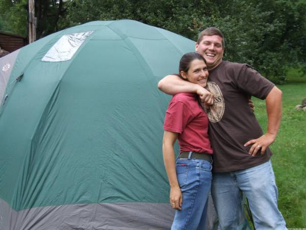 Hiram357 and Steph in their home away from home
