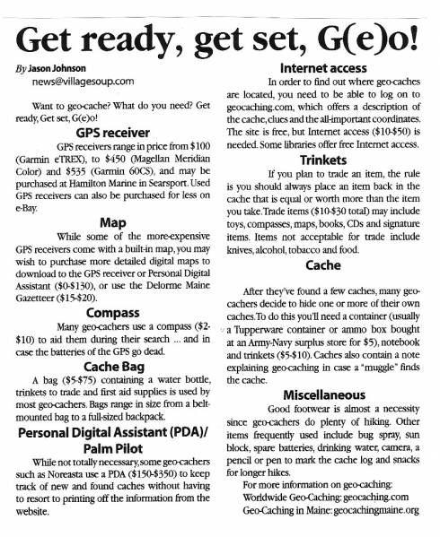 Geocache Article - Page 5