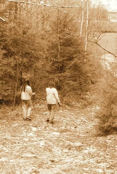 Hiker Twins
