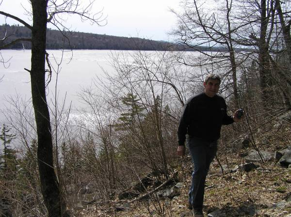 Dave_at_Rip_dam_rock_slide_cache