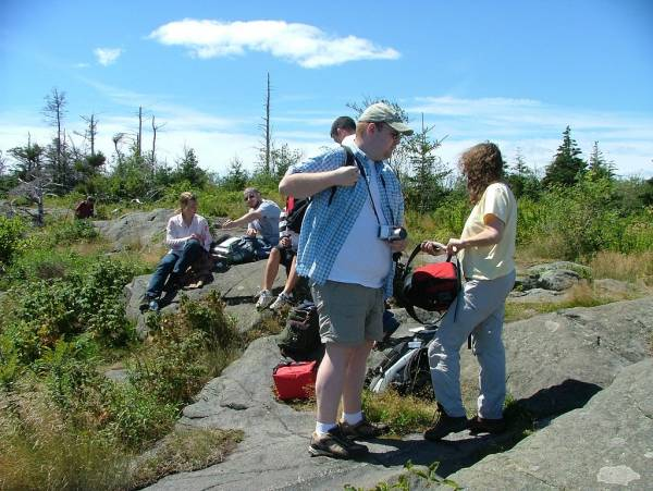 Group caching on Monhegan Island