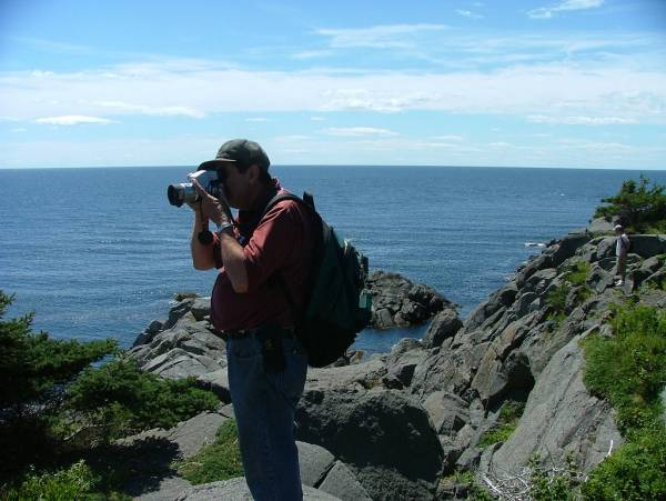 Group caching on Monhegan Island - YOP