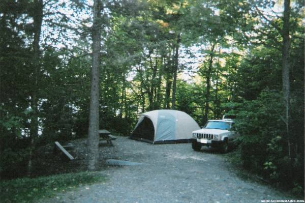 Camping At Lilly Bay State Park