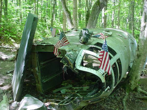 B52 crash site