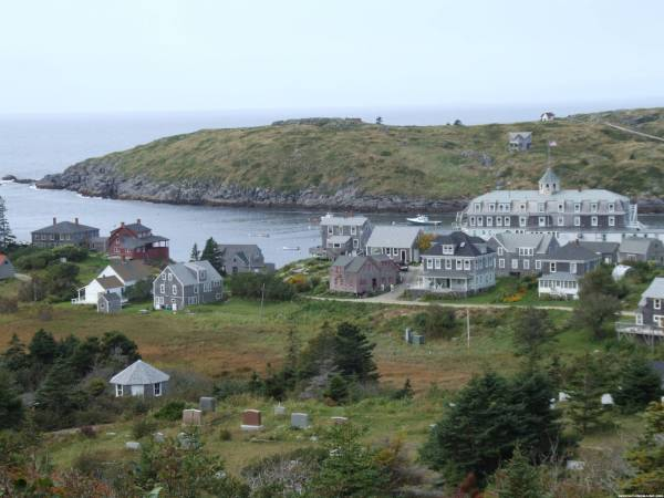 View from Monhegan Magic