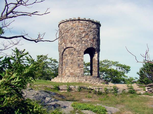 Mt Battie Tower