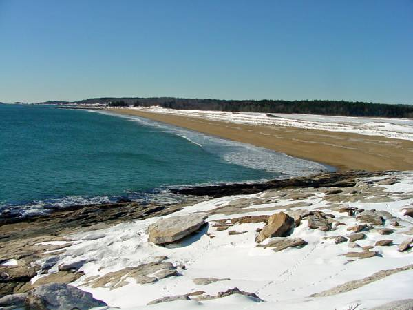 Reid State Park Beach