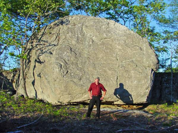 Fuller Mountain Erratic