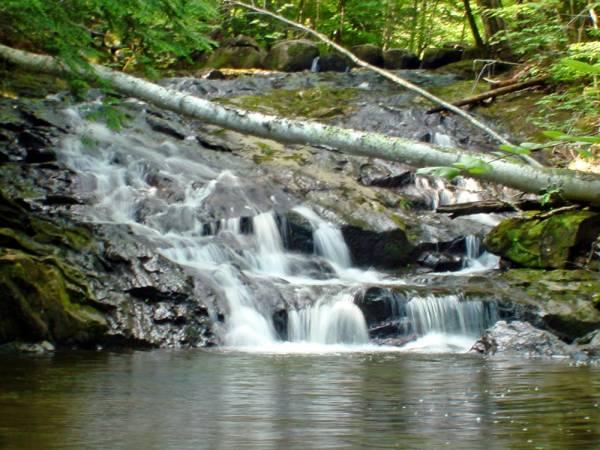 Hidden Falls Cache