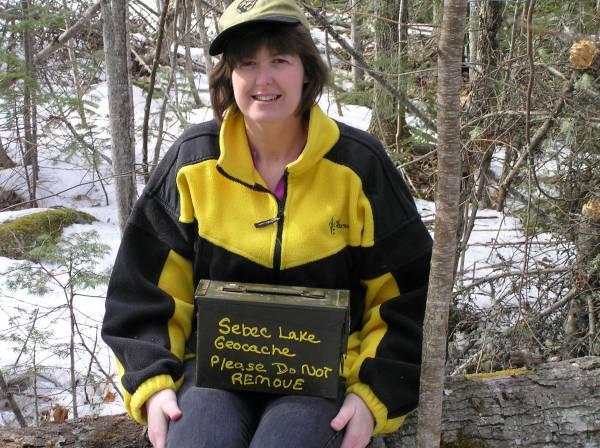 Sebec lake cache