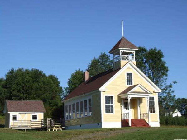 One Room Schoolhouse in Presque Isle