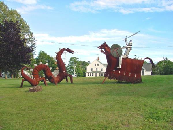 Dragons in Maine?