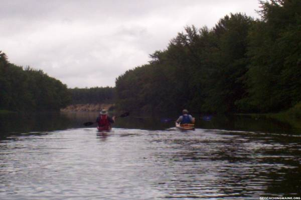 Paddling the Saco River