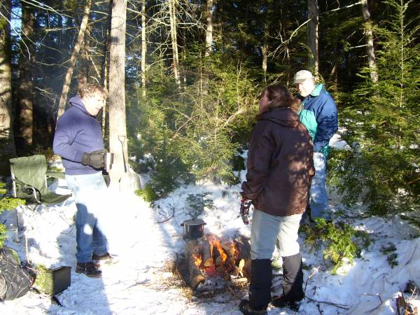 Winter Campout  Site