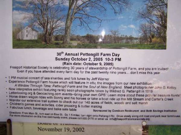 30th Annual Pettengill Farm Day