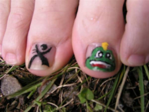 Geocaching Toes