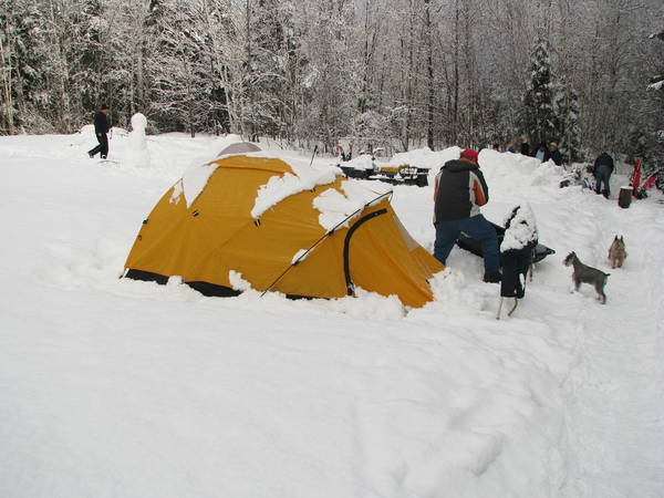 Brads tent