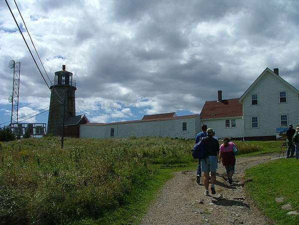 Sights on Monhegan Island caching trip