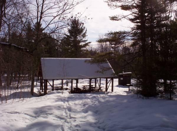 pavilion at Bradbury