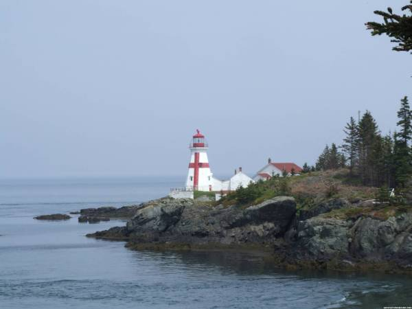 Quoddy Lighthouse on Campobello Island