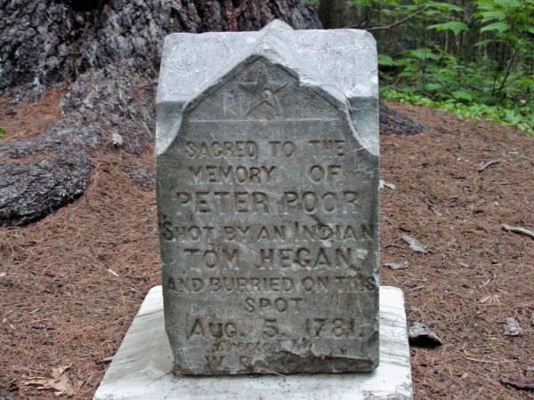 Peter Poor's Grave