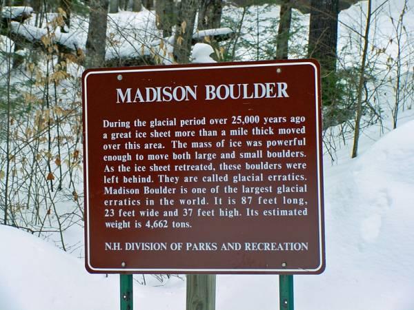Madison Boulder Info
