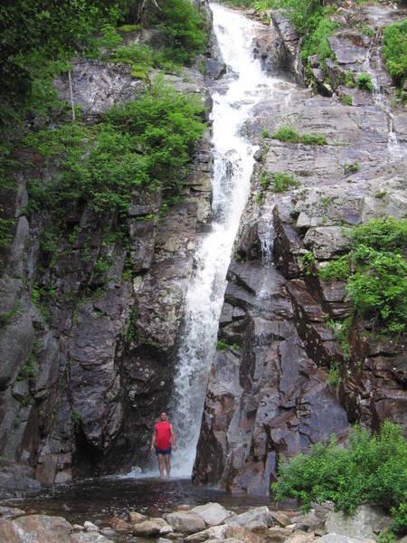 Silver Cascade Falls, NH