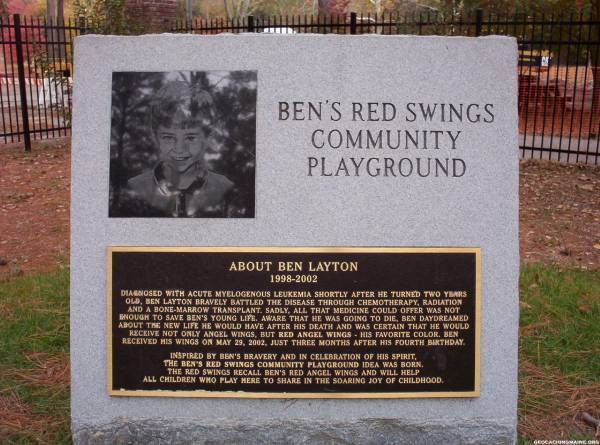 Bens Red Swings