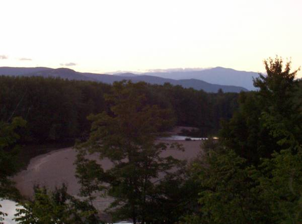 North Conway sunset
