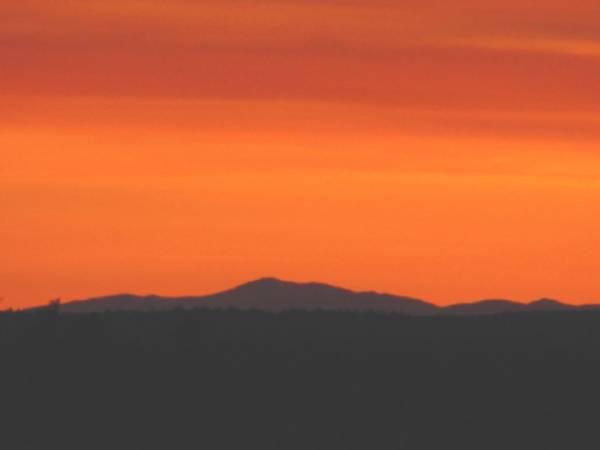 Mt.Washington in Sunset
