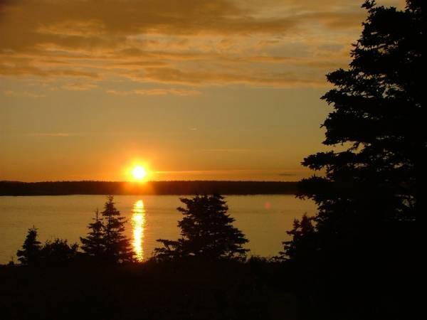 Sunset on Petit Manan