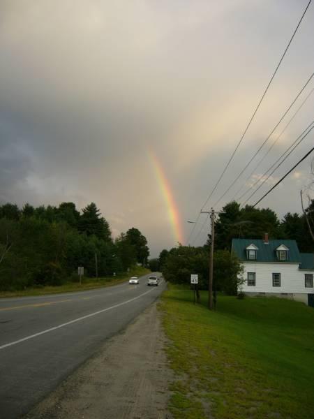 Rainbow in Solon