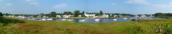 Kennebunk River (Panoramic)