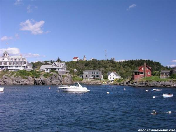 Leaving Monhegan
