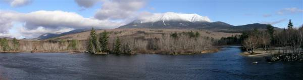 Snow Covered Katahdin