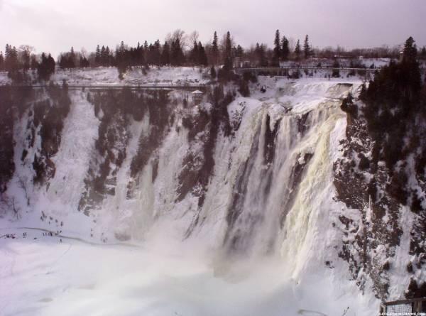 Montmorency Falls Quebec, Canada