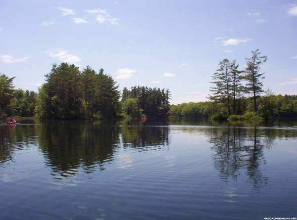 kayaking on Branch Pond