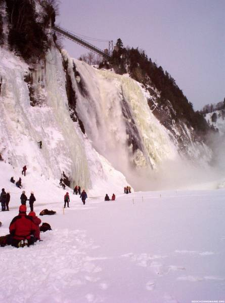 Towering Montmorency Falls