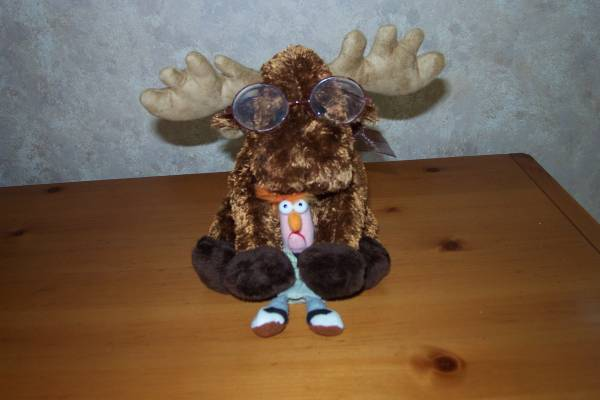 My Moose and Beaker from cache