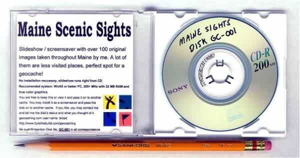 Maine Sights CD