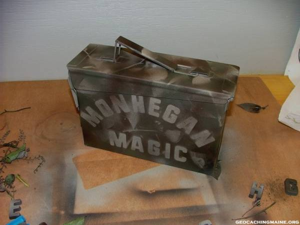 Monhegan Ammo Box Article